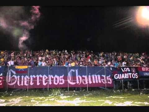 """Siempre Contigo Monagas"" Barra: Guerreros Chaimas • Club: Monagas"