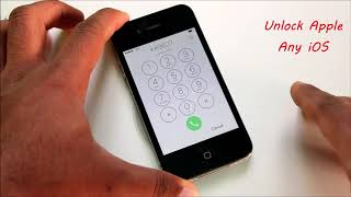 Unlock iCloud iPhone 4/4s/5/5s/5c/SE Any iOS 6/7/8/9/10 WithOut Apple ID/WIFI/DNS 2019