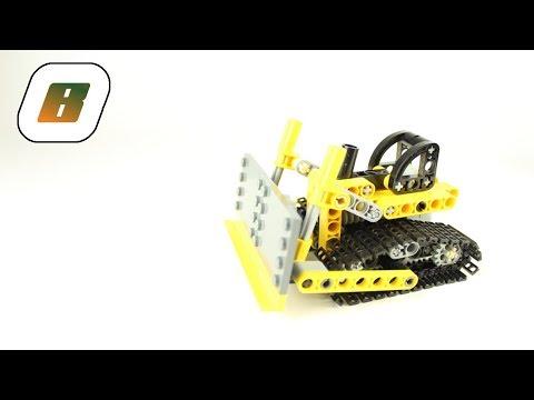Vidéo LEGO Technic 8259 : Le mini bulldozer