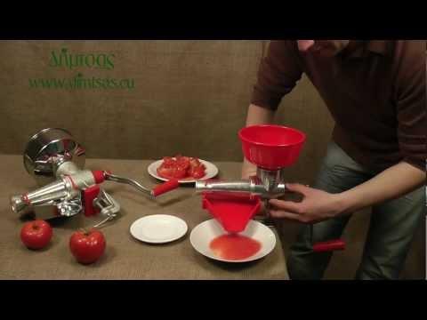 Χειροκίνητες μηχανές για σάλτσα ντομάτας