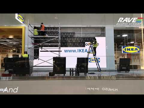IKEA Set-up - Festival Plaza