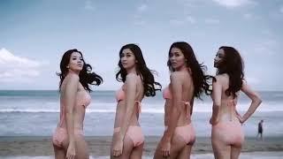VIRAL 4 Putri Indonesia BUGIL Di Pantai ..!!!!