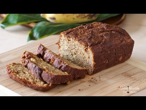 Video Paleo Banana Bread (grain/gluten/dairy-free)