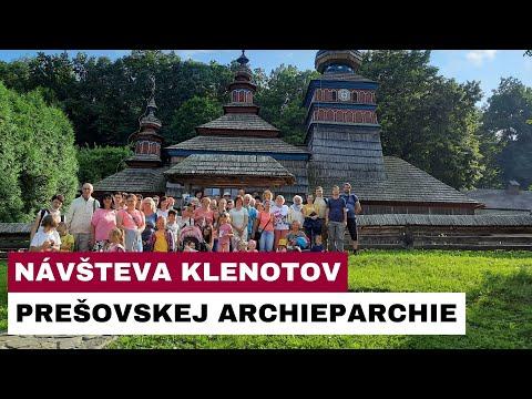 Gréckokatolíci zo Svitu navštívili klenoty Prešovskej archieparchie
