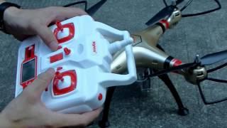 Syma X8HC X8HW Carrry Syma X8HG 1080P Camera flying