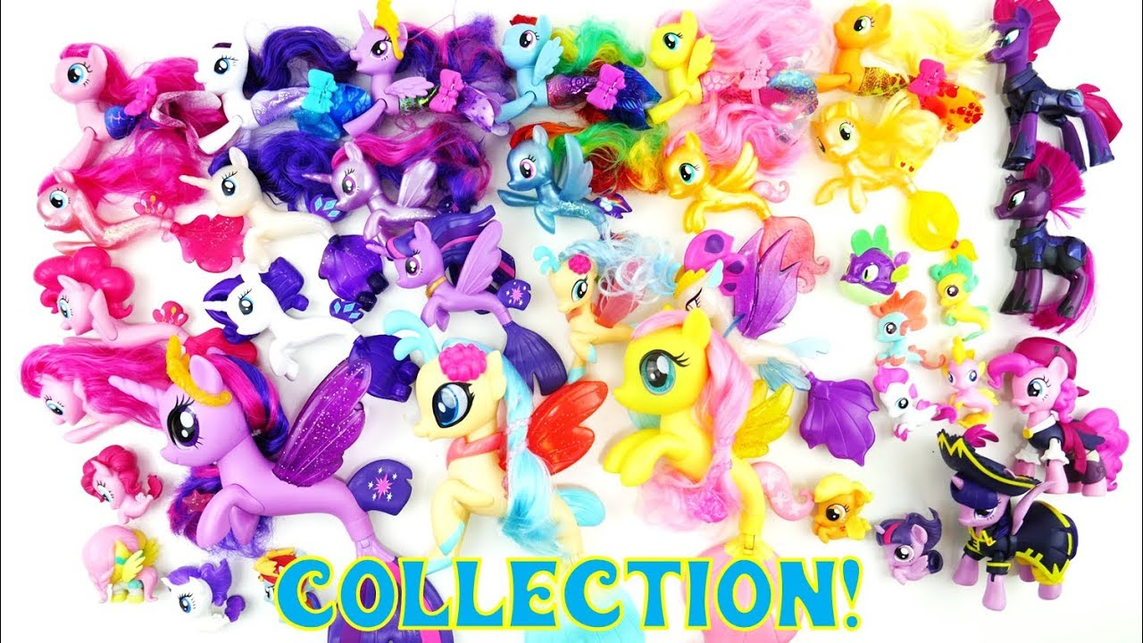 Collection of My Little Pony Movie 2017 Seapony Toys Tempest Shadow Pirates