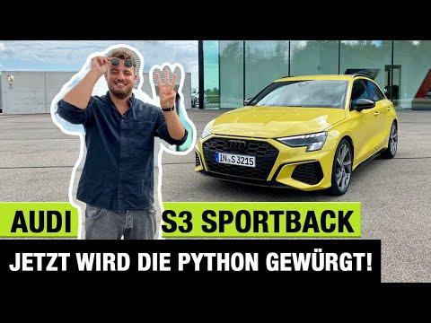 2020 Audi S3 Sportback (310 PS) - Jetzt wird die Python gewürgt! 🐍💛🏁 Fahrbericht | Review | Test