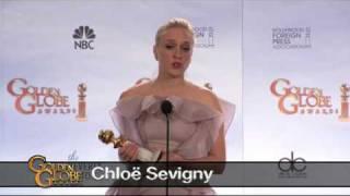 Golden Globes 2010 - Chloë Sevigny face à la presse