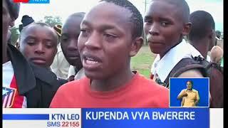 Wenyeji wa eneo la Karai wavamia lori liloanguka na kujichukulia bidhaa mbalimbali