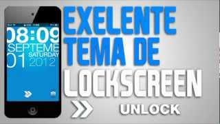 TYPOPHONE 4 | EXELENTE TEMA DE LOCKSCREEN PARA IPOD TOUCH & IPHONE