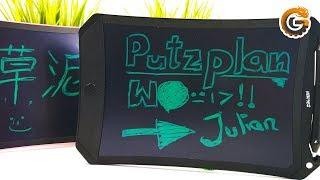 NEWYES LCD Schreibtafel: Kreidetafel Alternative für WGs und Kinder? / DEUTSCH | China-Gadgets