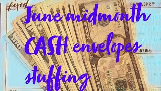"June 2018 cash envelopes ""Dave Ramsey ""Mid-Month AND GIVE AWAY"