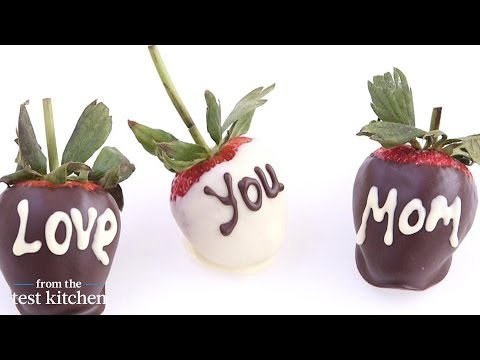 Chocolate-Covered Strawberries for Mother's Day – From The Test Kitchen