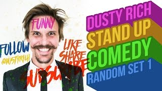 Dusty Rich | STAND UP COMEDY | Harry Potter Relationships
