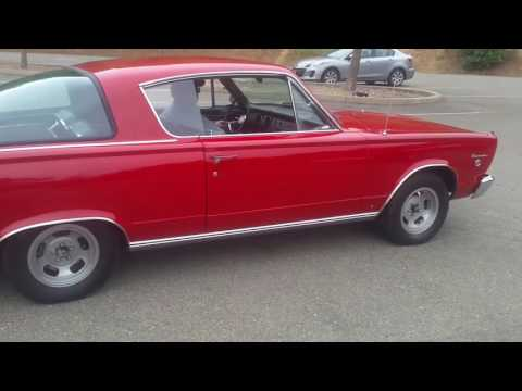 Video of '66 Barracuda - L6EP
