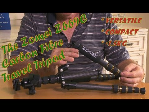 Zomei Z669C Carbon Fiber Travel Tripod Review