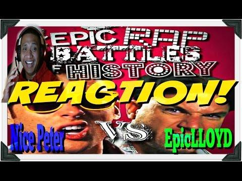 Nice Peter vs EpicLLOYD - Epic Rap Battles of History Season Finale Reaction 808 Hawaii