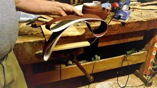 Schleifband selber machen/ склеить ленту из наждачки/Make sanding belt yourself