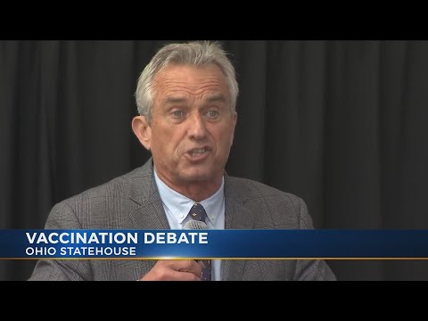 Robert F. Kennedy Jr., others criticize vaccinations at Ohio Statehouse
