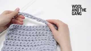 How to crochet handles
