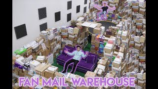 HUGE FAN MAIL WAREHOUSE (Opening Fan Mail)