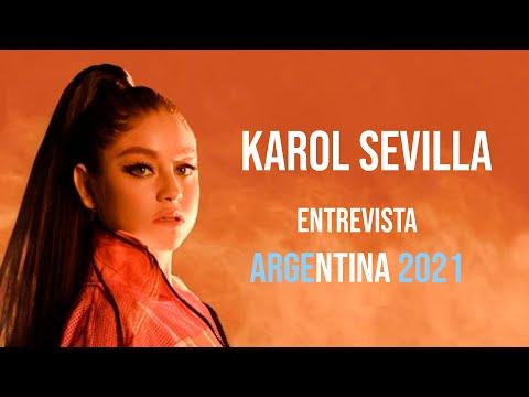 Karol Sevilla video Entrevista virtual - Argentina Julio 2021