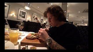Ужин вместе с любимой лейди ! С Селебой по ресторанам ! Vogue Cafe !