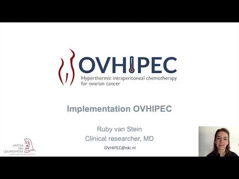 Hyperthermic Interperitoneal Chemotherapy for Ovarian Cancer