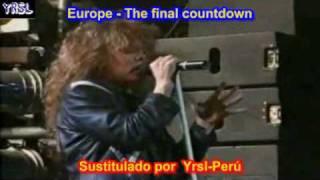 Europe -The Final Countdown ( SUBTITULADA EN ESPAÑOL & iNGLES )