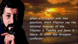 Filipino Lesson 201: A Brief History of the Tagalog and Filipino Language