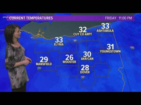11 p.m. weather forecast for December 6, 2019