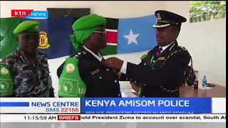 Kenyan police officers serving under AMISOM feted in Mogadishu for their distinguished service