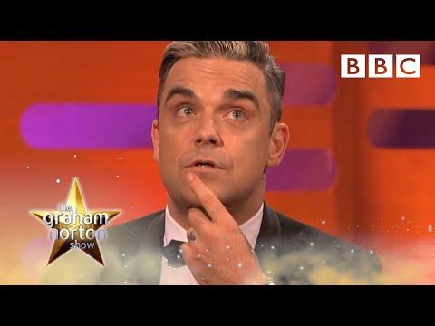 Robbie Williams o porodu, rodičovství a fanoušcích - The Graham Norton Show