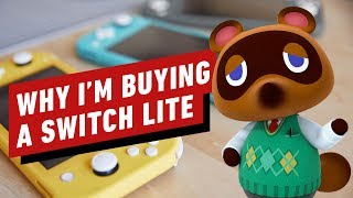 Why I'm Getting a Nintendo Switch Lite Even Though I Have a Switch