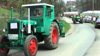 preview picture of video 'Bulldog- und Schleppertreffen Zwickau - Auerbach_das 9-te_Film 2 - Der Runkorso.mp4'