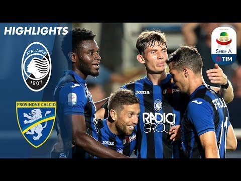 Atalanta 4-0 Frosinone | Gómez Double Seals Emphatic Win | Serie A