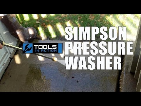 Simpson PowerShot PS3228 3200 psi Pressure Washer – Review