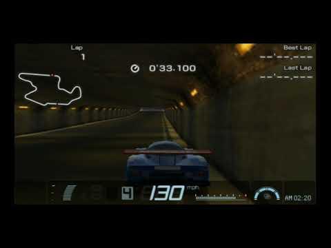 Gran Turismo PSP Nissan R390 GT1 LM Race Car '98 Trial Mountain Hotlap