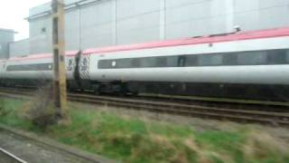 preview picture of video 'Train window view - Pendolino Bakerloo'