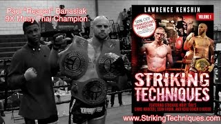"9x Muay Thai Champion on my ""Striking Techniques Volume 1"" Book! 
