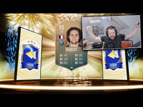 INSANE TOTS FLASHBACK RABIOT SBC! (90 Rated) - FIFA 19 Ultimate Team