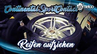 Continental SportContact 6 Reifen Aufziehen | Reifenmontage bei King Performance Düsseldorf