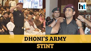 When MS Dhoni undertook patrolling duties with Indian Army in Kashmir  IMAGES, GIF, ANIMATED GIF, WALLPAPER, STICKER FOR WHATSAPP & FACEBOOK