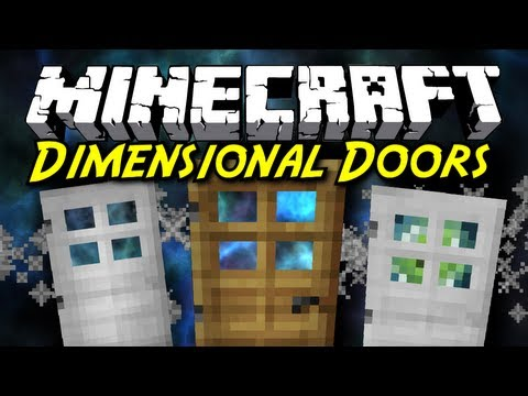 Minecraft Mod Showcase: Dimensional Doors! [POCKET DIMENSIONS AND LIMBO]