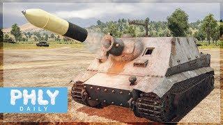 380MM ROCKET   STURMTIGER Heavy Assault Tank (War Thunder Tanks Gameplay)