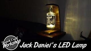 Jack Daniels LED Lamp || DIY