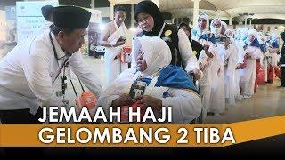 Jemaah Haji Gelombang Kedua yang Tiba di Jeddah Langsung Mengenakan Kain Ihram
