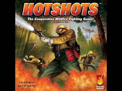 The Purge: # 1489 Hotshots: Not a Pandemic clone, but a Cooperative Game of Fighting Fires
