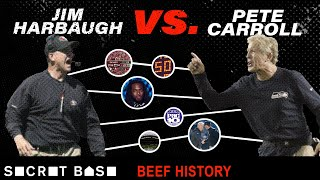 The Jim Harbaugh-Pete Carroll beef spans the Pac-10, NFC West, and parking lots