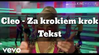 Cleo   Za Krokiem Krok + Tekst